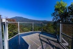 View Point of canopy walk way at Queen Sirikit Botanic Garden Stock Photo