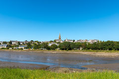 View of Point-Croix, Finistere department of Brittany (France) Royalty Free Stock Image