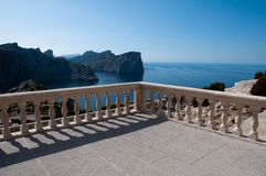 View Point Formentor, Majorca, Spain Royalty Free Stock Photo