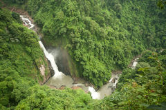 View point of Haw Narok waterfall. Royalty Free Stock Image
