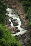 View point of Haw Narok waterfall , Thailand. Stock Photo