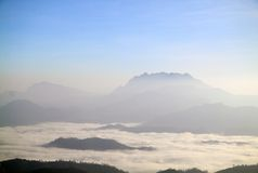 View point at Huay nam dang National park, Chiangm Royalty Free Stock Photography