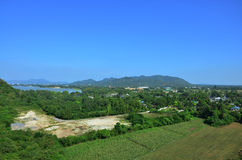 View point of Kanchanaburi Thailand Royalty Free Stock Photo