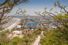 View point at Khao Chong Krachok, Thailand. View point at Khao Chong Krachok, prachuap khiri khan province, Thailand Stock Photography