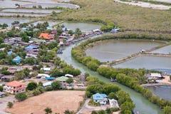 View point at Khao Dang, Thailand. View point at Khao Dang, prachuap khiri khan province, Thailand Stock Photos