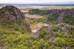 View point at Khao Dang, Thailand Stock Photos