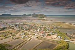 View point at Khao Dang, Thailand. View point at Khao Dang, prachuap khiri khan province, Thailand Stock Images