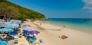View point at Koh Lan Island Royalty Free Stock Photo