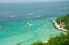 Ko lan island in thailand. View point at Koh Lan Island Phattaya Thailand Royalty Free Stock Photography