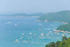 View point at Koh Lan Island Phattaya Royalty Free Stock Photos