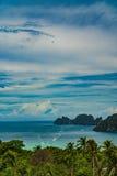 View Point Koh Phi Phi Don in andaman sea, Phuket, Krabi, South of Thailand Stock Photos