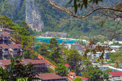 View Point Koh Phi Phi Don in Thailand Stock Photo