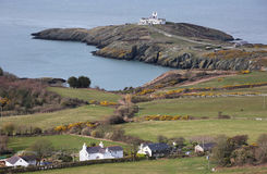 View of Point Lynas on Anglesey, Wales Royalty Free Stock Image