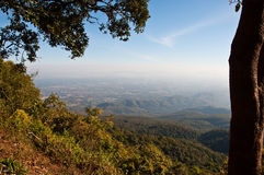 View point on mountain Royalty Free Stock Image