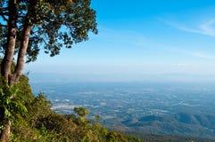 View point on mountain Royalty Free Stock Photo