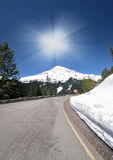 A View point of of Mt Rainer Royalty Free Stock Photos