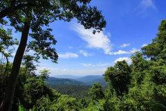 View point on nature trail to Thung Non Son Royalty Free Stock Photos