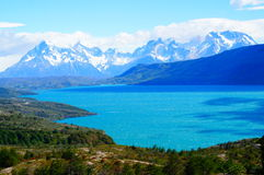 View point at patagonia royalty free stock photo