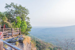 View Point at PHA MOR IE DANG,SRI SAKET , Thailand Royalty Free Stock Photos