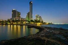 View point at  Phattaya Beach Stock Image