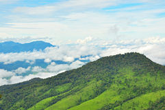View point of Phu Soi Dao Nationnal Park Stock Image