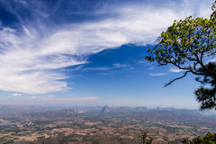 View point from Phukradung National Park. Loei Province, Thailand Royalty Free Stock Images