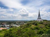 View point of Pranakornkiri (Kao Wang) Stock Photo