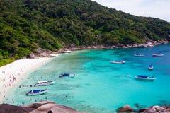 View Point at Similan island,Andaman Sea Royalty Free Stock Photo