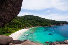 View Point at Similan island,Andaman Sea Stock Photos