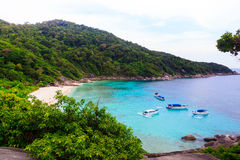 View Point at Similan island,Andaman Sea Royalty Free Stock Photo