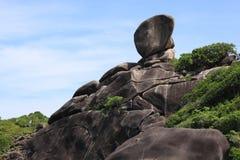 View point at Similan Island in Similans national park Royalty Free Stock Image