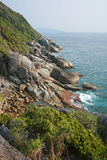 View point of Similan island Stock Photo