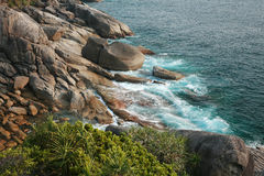 View point of Similan island Royalty Free Stock Images