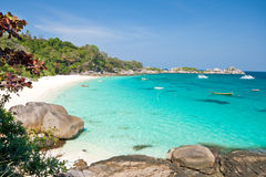 View Point, Similan Islands, South of Thailand Stock Photos
