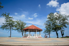 View point of songkhla. The famous view point on the Songkhla beach Royalty Free Stock Image