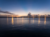 View point at southernmost of USA in Key West. Florida Stock Photos