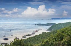 View point Ta Waen Beach at Koh Lan Island Phattaya Thailand,One of the most beautiful island in Thailand. Photo of View point Ta Waen Beach at Koh Lan Island Stock Photo