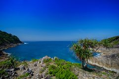 View Point of Tachai island in Thailand Stock Photo