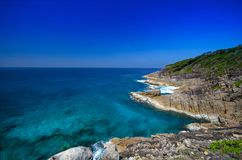 View Point of Tachai island in Thailand Stock Photography