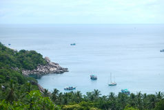 View point of Tao Island. Thailand Royalty Free Stock Image