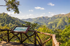 View point at Thong Pha Phum National Park Royalty Free Stock Photos