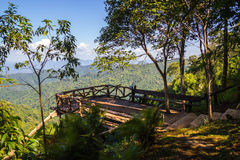 View point at Thong Pha Phum National Park Stock Image