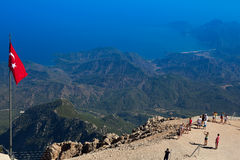 View point on top of Tahtali Stock Image