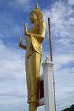 The view point of tourist attractions ISOLATED. 30 OCTOBER 2016; The standing Buddha source on the view point of tourist attractions IN EASTERN THAILAND Stock Image