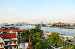 View point at wat arun Stock Photography
