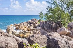 Pointe Ste Marie, Seychelles Royalty Free Stock Image