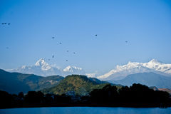 View in Pokhara Nepal Royalty Free Stock Photo