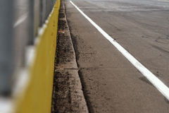 View from the pole position Royalty Free Stock Photos