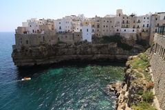View of Polignano a mare Royalty Free Stock Photo
