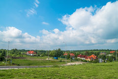 View of the Polish countryside Royalty Free Stock Image